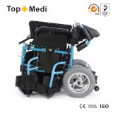 Topmediの医療機器の障害があり、高齢者のための多機能の折りたたみの電力の車椅子