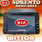 Automobile radiofonica auto DVD (W2-9517K) di Witson KIA Sorento 2010