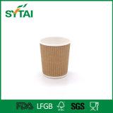 4-16oz Wuhan 중국에서 커피를 위한 처분할 수 있는 Eco-Friendly 잔물결 벽 종이컵