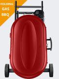 Kampierendes Gebrauch-bewegliches faltendes Gas BBQ-Gitter-Set