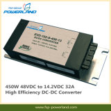 450W 48VDC à 14.2VDC 32A High Efficiency DC-DC Converter
