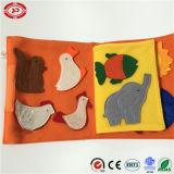 Livre mou de peluche de bébé réglé pré lecture du cadeau éducatif