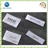 Het kledingstuk paste de Geweven Etiketten van de Polyester van 100% Kleding (aan JP-CL087)