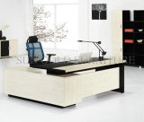 Escritorio de la protuberancia de madera sólida del vector ejecutivo de los muebles de oficinas de la calidad (SZ-ODT637)