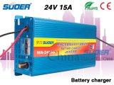 Suoer carregador de bateria de 24V 15A Carregador de Bateria Inteligente com quatro fases modo de carregamento (MA-2415)