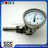 Tipo universale termometro bimetallico che può basare usando ed usando posteriore