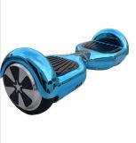 金属カラーの電気めっきの自己バランスの漂うスクーター