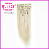 Nuovo Arrival Best Selling Factory Wholesale Price nessun Tangle nessun'unità di elaborazione Skin Weft Clip di Shedding in Hair Extension
