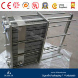 Carbonated Drink Line에 있는 격판덮개 Style Heat Exchanger