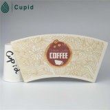Hztl White con il PE Coated Printed Paper Cup Fan di Cute Small Animal