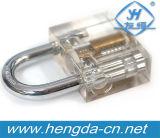 Инструменты Locksmith Yh9255 один прозрачный Padlock лезвия + выбор замка лезвия 1 части