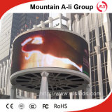 Afficheur LED de P6 Outdoor Curved Screen Panel pour Video Advertizing