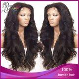 Pleine perruque de lacet de plein de lacet cheveu de la perruque 100%Human