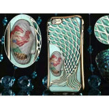 Samsung及びiPhoneのためのシェルQuicksand Mermaid Phone Case