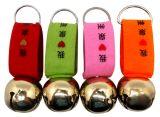 小さい鐘Keychain、記念品としてジングルベル