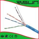 Câble résistant au feu de Cmr Cat5e de câble LAN