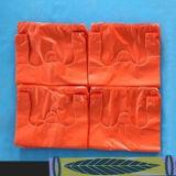 Sac à provisions en plastique de HDPE avec 4 Kgs/CTN ou Customried