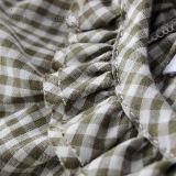 Alineada de la muchacha del desgaste de los cabritos de la ropa de los niños del algodón para el verano