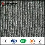 Hierba sintética del PPE de la W-Forma del césped para el lugar del ocio