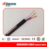 CCTV를 위한 Rg59 샴 Coaxial Cable+ 2c Power Cable