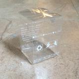 Коробка PVC упаковки пластмассы складывая малая изготовленный на заказ мягкая пластичная