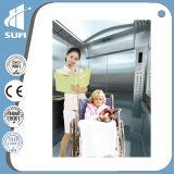 """"""" ascenseur d'hôpital d'acier inoxydable de délié de l'écran LCD 7"""