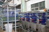 Schulter nimmt Dyeing&Finishing Maschine mit der 60m Dampf-Raum auf Band auf