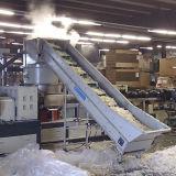 Granulador de reciclaje plástico de granulación del LDPE de la maquinaria del PE del anillo del agua Sj150