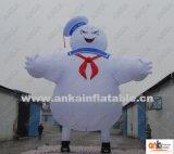 3 ' aan Mens van de Heemst van Puft van Verblijf 30 ' Airblown de Opblaasbare Ghostbusters