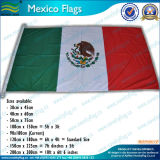 drapeau national du Mexique du polyester 200d (M-NF05F06010)