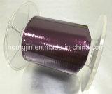 Bande chaude colorée de polyester de film d'isolation de clinquant d'enduit de fonte de Mylar dans la fabrication de roulis de Minuteness