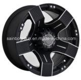 Wrangder roda 17X8.5 e bordas de 0 rodas da liga do carro 5X127 para o jipe