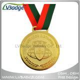 Medaglia di oro su ordinazione per i regali del ricordo