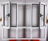 China Supplier Aluminium Profile Casement Window mit Double Glass