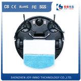 薄いボディ小型多機能HEPAフィルター乾湿両方の広範なモップのスマートなロボット掃除機
