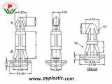 공장 가격 최고 플라스틱 가격 PCB 간격 장치 지원