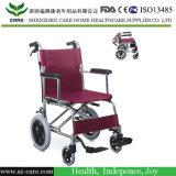 Tránsito de peso ligero de aluminio para sillas de ruedas Airplant