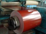 Bobine de l'acier enduite par couleur PPGI pour couvrir des entrepôts de la Chine