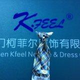 Kundenspezifischer Check-Polyester-Klipp auf Krawatte