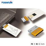 Commande par la carte de crédit d'USB de cartes de visite professionnelle de visite d'entraînement d'instantané d'USB