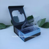 كتاب شكل عطر ورقة مجموعة صندوق مع [بفك] نافذة