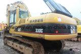 使用された2008/6500hrsバックホウの日本元の大規模な油圧幼虫330cのクローラー掘削機