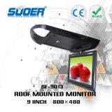 9 van de Uiterst dunne LEIDENE van de duim de Monitor van de Auto van het Dak LCD Monitor met MP5 Speler (SE-9013)
