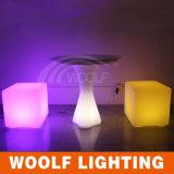 플라스틱 LED 당 입방체 3D LED 입방체 3D 색깔 LED 입방체