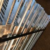 Рельс горячего DIP гальванизированный стальной легкий для того чтобы собрать