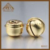 方法ニースの品質の金カラー20mmリング鐘は卸し売りする