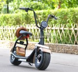 LED 빛 2016 60V 아이 Harley 도매를 위한 전기 걷어차기 스쿠터를 가진 두 배 시트 Citycoco Scrooser