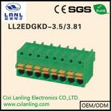 Conetor Pluggable do PWB dos blocos Ll2edgrkd-3.5/3.81 terminais