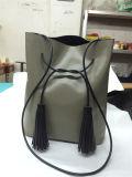 女性のための最新のデザイナーPUのハンドバッグのふさのショルダー・バッグ