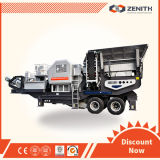 Зенит Small Mobile Stone Crusher Plant с Large Capacity